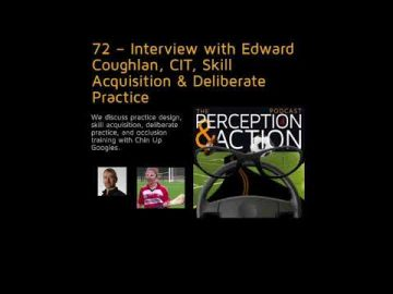 Podcast with Dr. Edward Coughlan on occlusion training with Chin Up Goggles